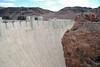 Hoover Dam looking towards Arizona.