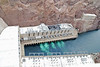 The power plants at the Hoover Dam.