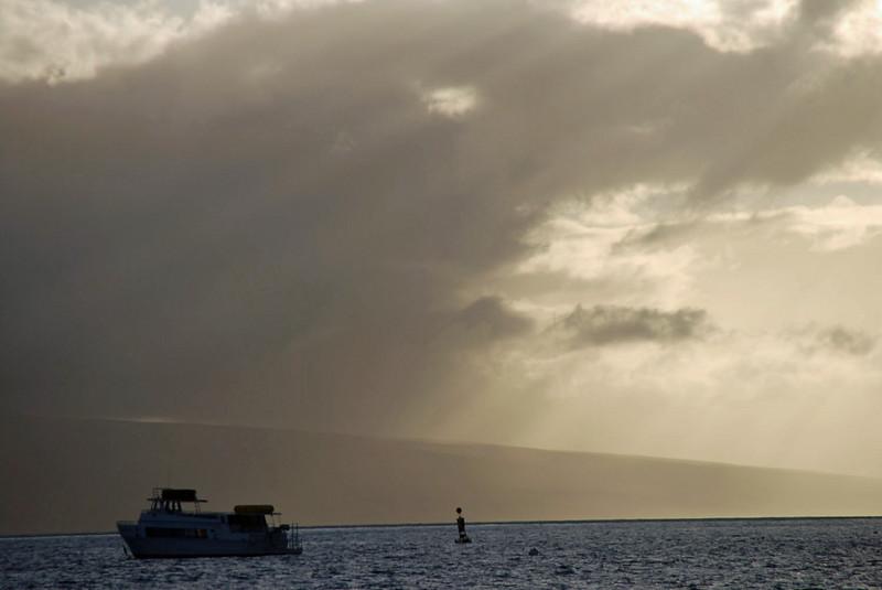 Sunset at Lahaina.