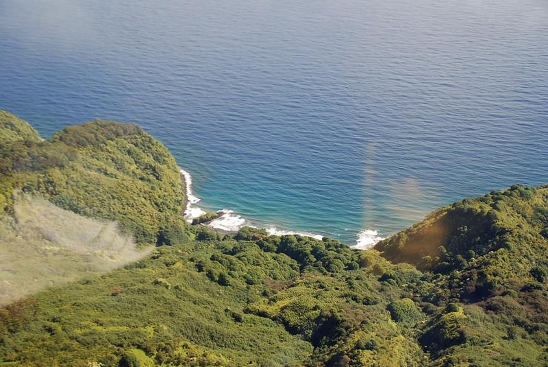 Hidden beach viewable only by air.