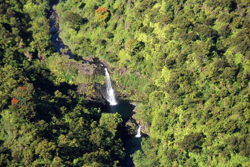 Maui waterfalls.