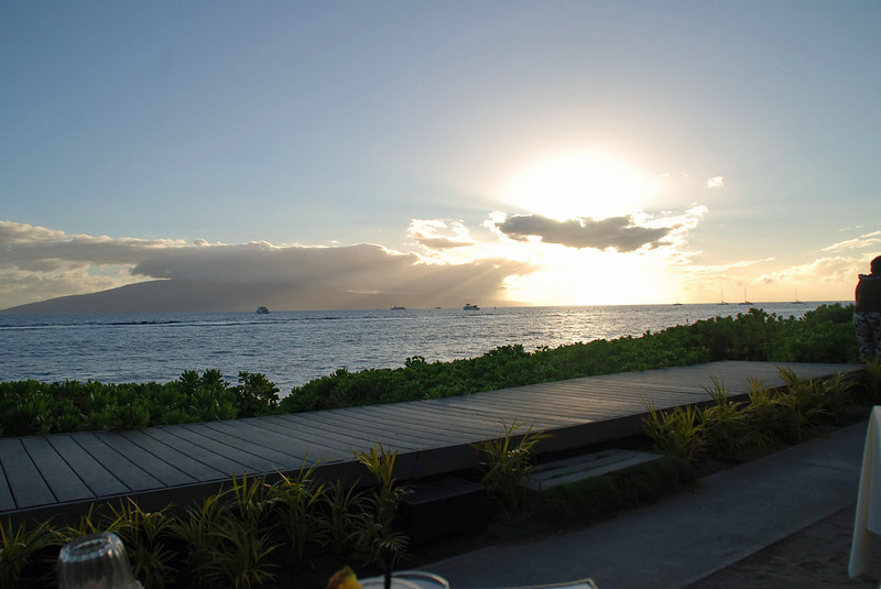 Sunset at Lahaina (Feast at Lele stage).