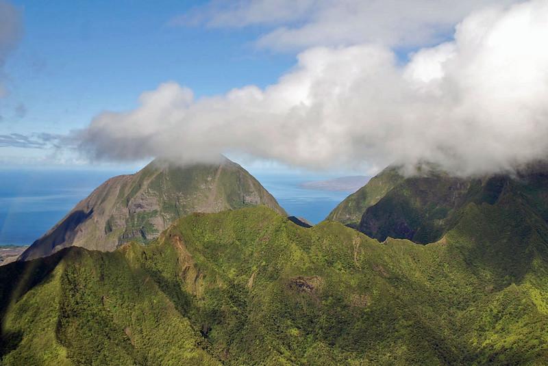 West Maui mountains.