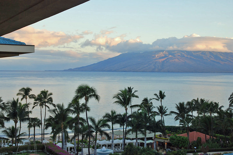 West Maui from our lanai.
