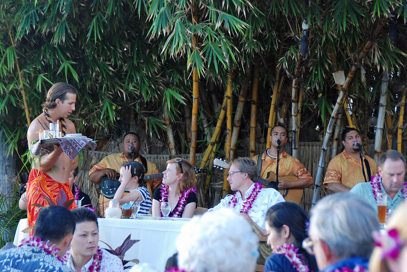 Live music at the Feast at Lele.