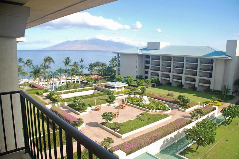 Gardens at the Four Seasons Maui.
