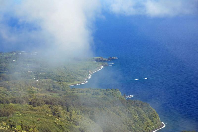 The Maui coast.