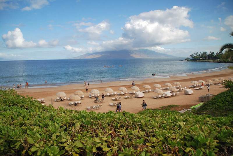 Wailea Beach at Four Season Maui.