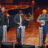 Mike Snider (right) performing at the Grand Ole Opry.