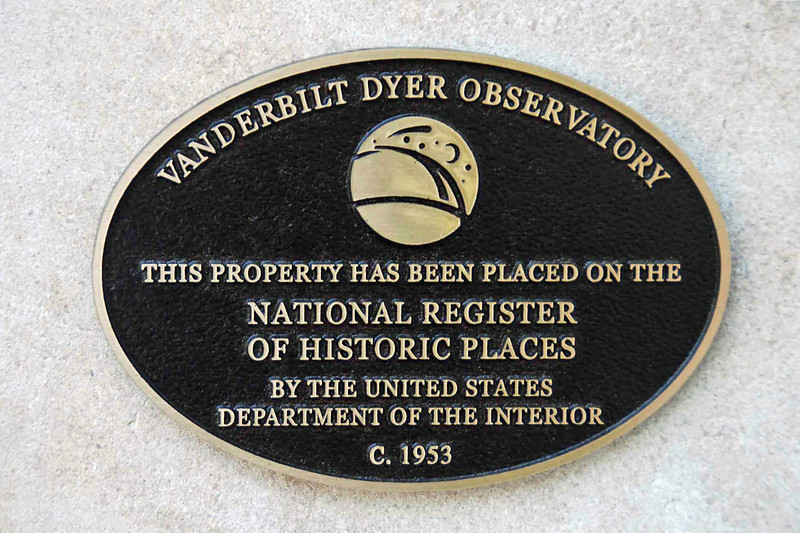 Vanderbilt Dyer Observatory.