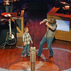 Bo Bice and his oldest son at the Grand Ole Opry.