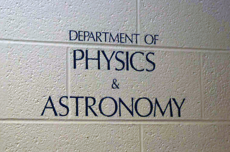 Department of Physics & Astronomy.