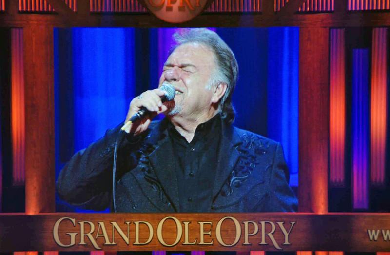 Gene Watson at the Grand Ole Opry.