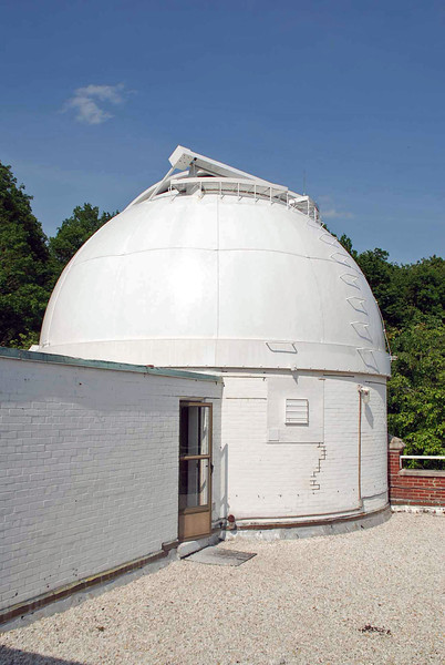 The dome of the Seyfert Telescope as seen from the roof of the observatory.