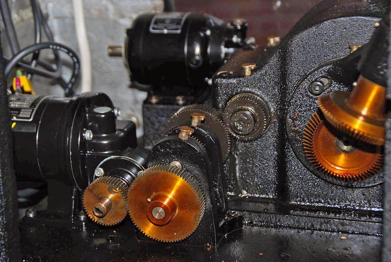 The clock mechanism of the Seyfert Telescope.
