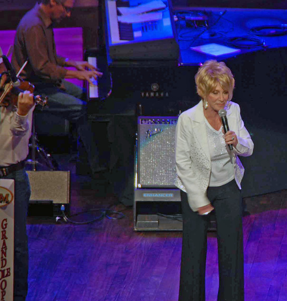 Jeannie Seeley at the Grand Ole Opry won a Grammy in 1966.
