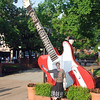 Jean at the Grand Ole Opry.