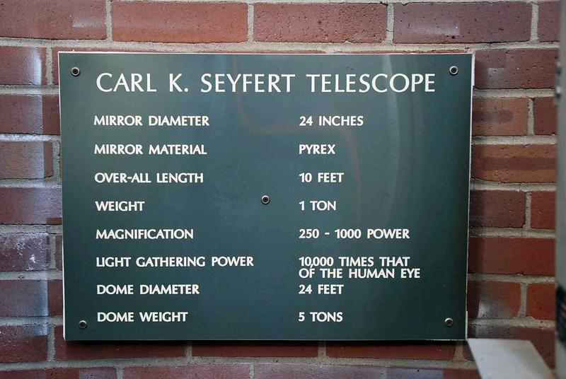 The Seyfert Telescope.
