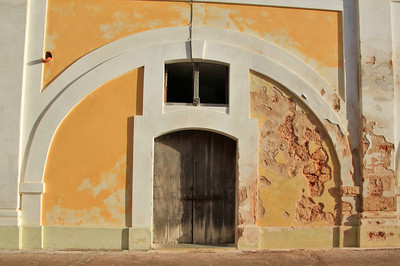 Arch and Door at El Morro Castle in Old San Juan.