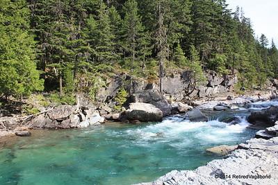 McDonald Falls, Glacier Park Montana