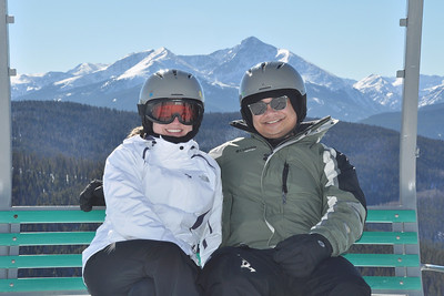 Vail Mountain, January 2014