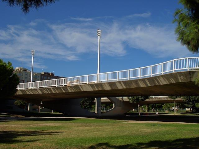 Bridge over La Turia