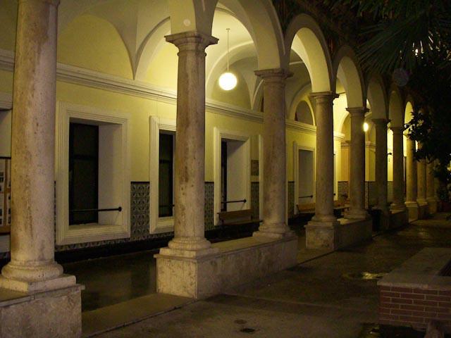 El Patio del Instituto Luis Vives