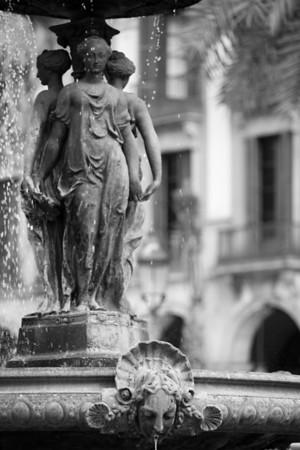 Madrid, Cuenca, Valencia, Barcelona.