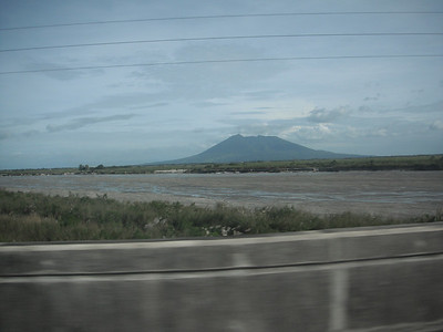Mount Arayat from a far...