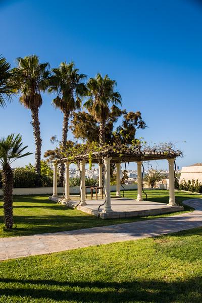 Hotel Phoenicia wedding gazebo