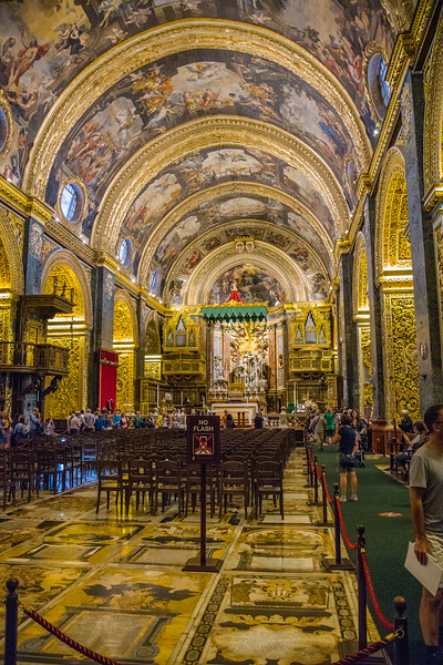 St John's cathedral, Valletta