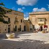 Mesquita square, Mdina - scene from Game of Thrones