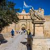 City gate, Mdina