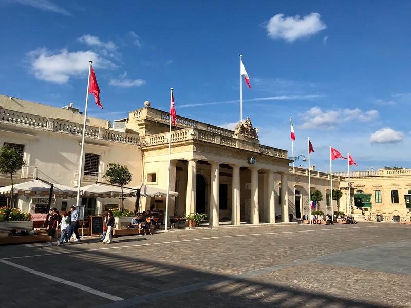 Palace in Republic Square, Valletta