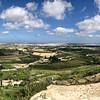 Panorama from Mdina ramparts