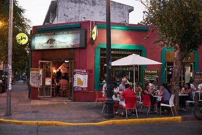 Street life, Santiago.