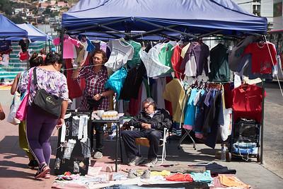 Street market, Valparaiso.