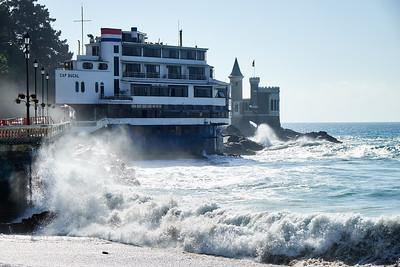 Waves, Valparaiso.