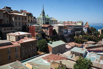 Valparaiso view.