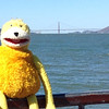 """""""Look at me! I'm at the Golden Gate!"""""""
