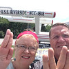 Then it was off to Iowa. They stopped in Riverside to see where Captain Kirk will be born.