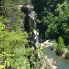 A view of Tallulah Gorge