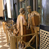 Sculptures throughout the lobby reminded us of the station in its heyday.