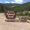 We stopped in a couple of places as we crossed the Bighorn National Forest.