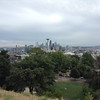 Classic view of Seattle from Kerry Park; if it hadn't been cloudy we could have seen Mt. Rainier from here.
