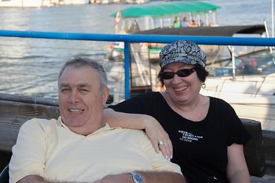 Naomi & Shmuel Yahav at Granville Island.