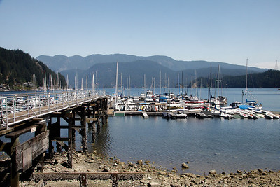 Deep Cove Marina.