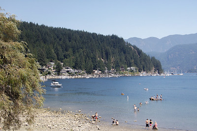 Deep Cove (far East side of North Vancouver).