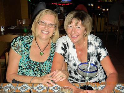 Carol and Gloria Flortin.