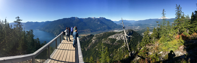 A panorama from one of the overlooks.  It was a great place!